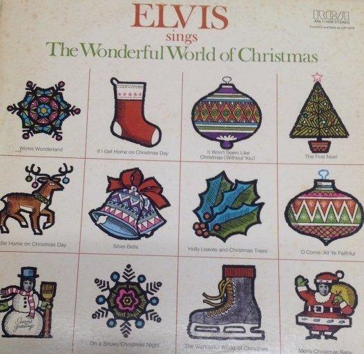 Elvis Wonderful World of Christmas Album