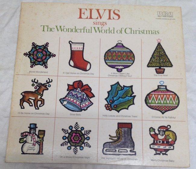 Elvis Wonderful World of Christmas Album - 5