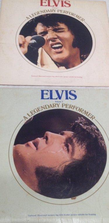 Elvis Legendary Performer Double Album