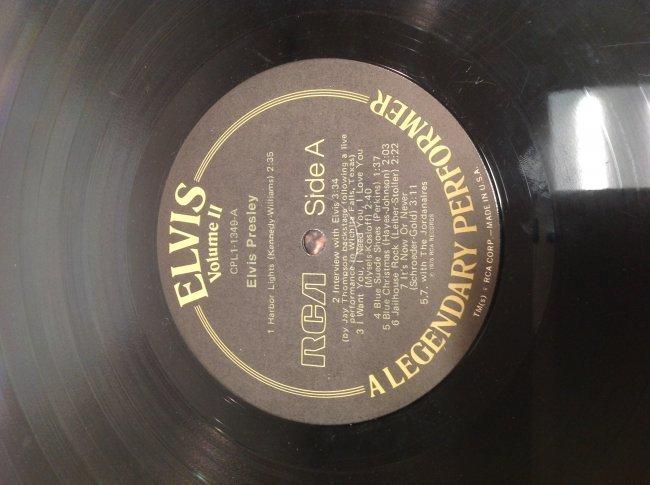 Elvis Legendary Performer Double Album - 4