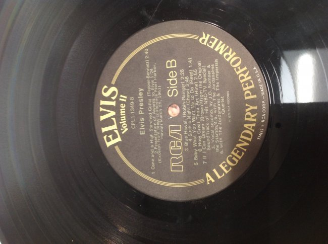 Elvis Legendary Performer Double Album - 5