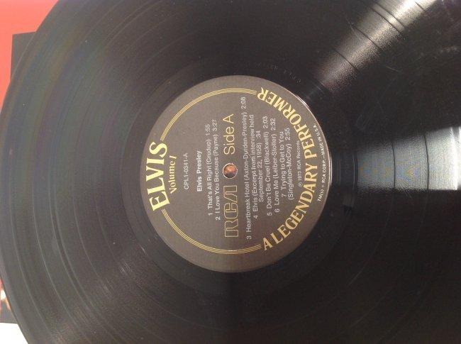 Elvis Legendary Performer Double Album - 6