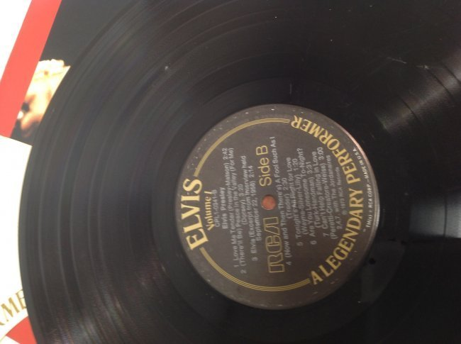 Elvis Legendary Performer Double Album - 7