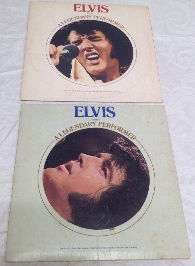 Elvis Legendary Performer Double Album - 8