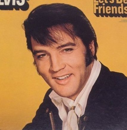 Elvis Lets Be Friends Album