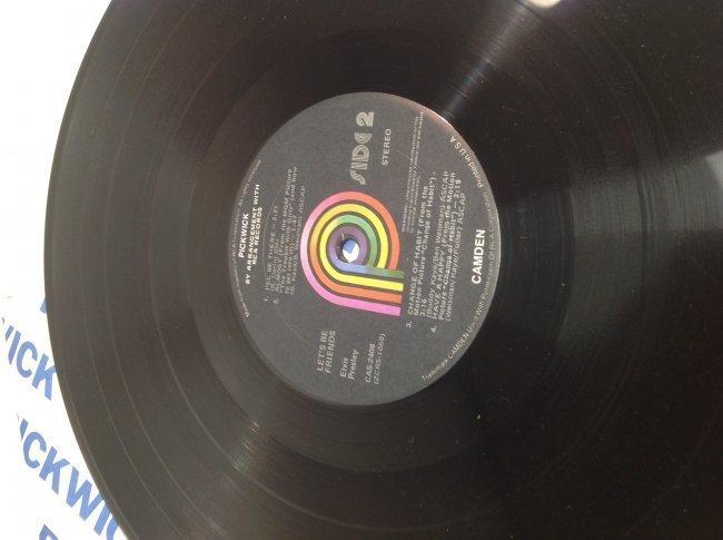 Elvis Lets Be Friends Album - 5