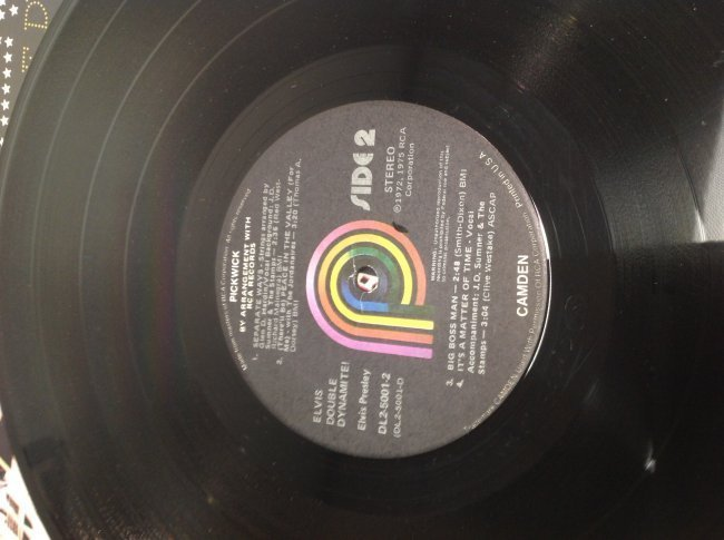 Elvis Double Dynamite Album - 6