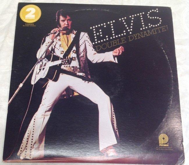 Elvis Double Dynamite Album - 7
