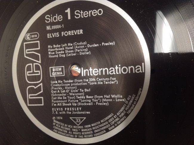 Vintage Elvis Forever Album - 4