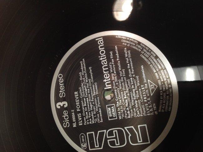 Vintage Elvis Forever Album - 6