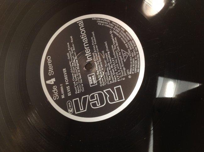 Vintage Elvis Forever Album - 7