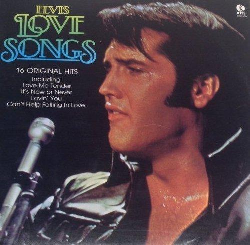 Elvis LOVE SONGS Original Hits Album