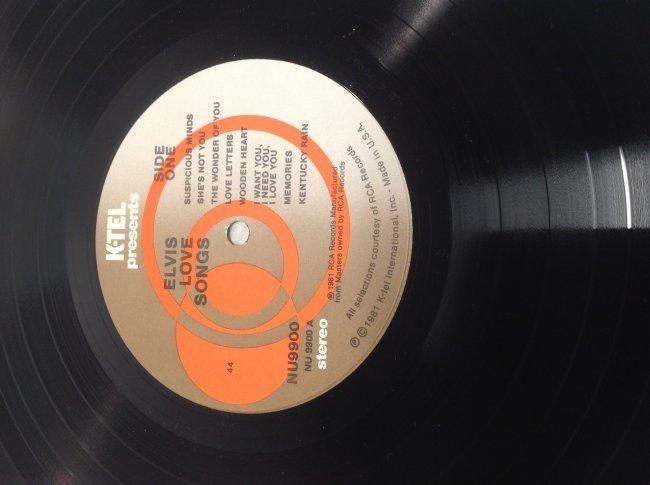 Elvis LOVE SONGS Original Hits Album - 3