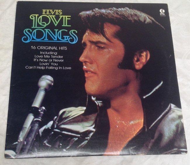 Elvis LOVE SONGS Original Hits Album - 5
