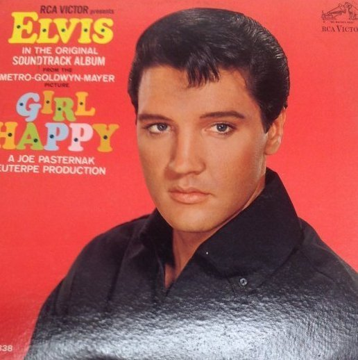 Vintage Elvis Girl Happy  Album