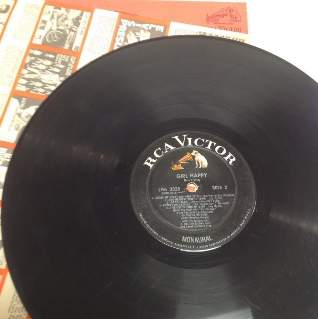 Vintage Elvis Girl Happy  Album - 4