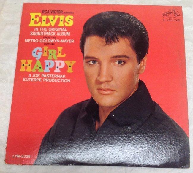 Vintage Elvis Girl Happy  Album - 5