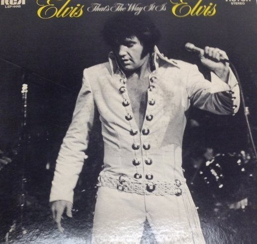 Elvis THATS THE WAY IT IS Album