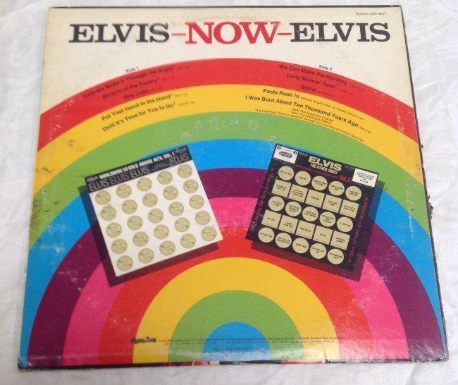 Vintage Elvis NOW Album - 2