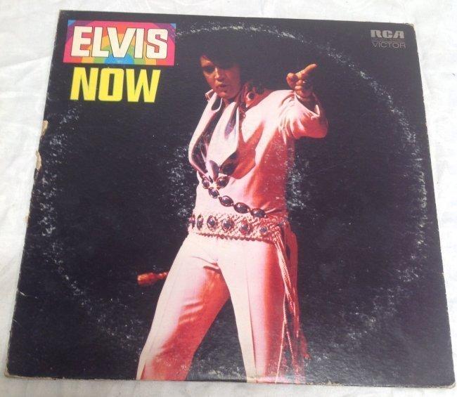 Vintage Elvis NOW Album - 5