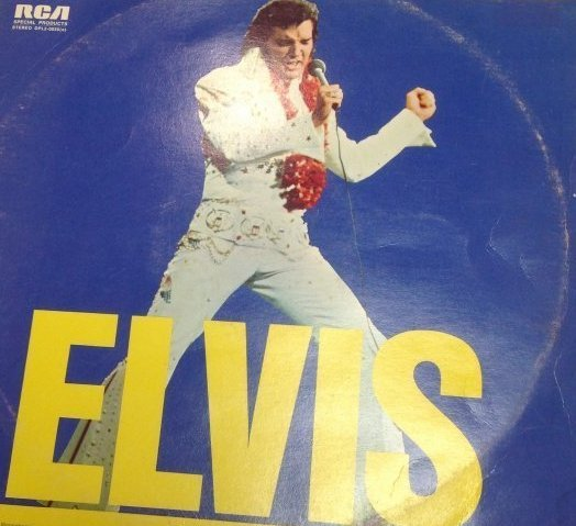 Vintage Elvis Double Album ELVIS