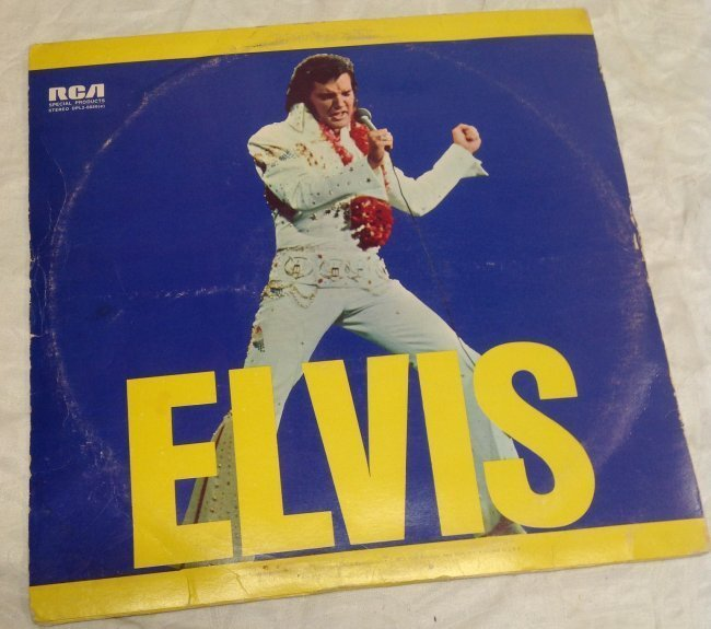 Vintage Elvis Double Album ELVIS - 2