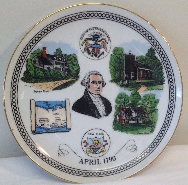 George Washington Anniv Plate
