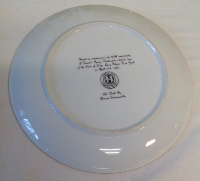 George Washington Anniv Plate - 3