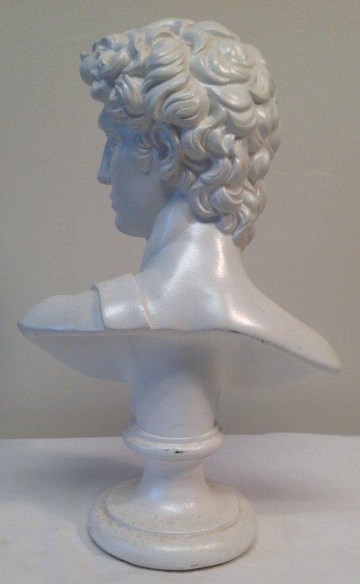 Greek / Roman Ceramic Bust 9.5 H - 2