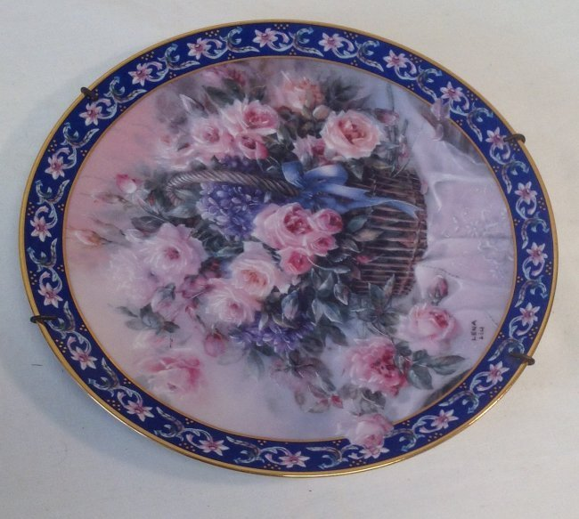 Signed Lena Liu Numbered Plate