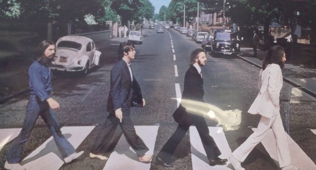 Abbey Road poster (The Beatles)