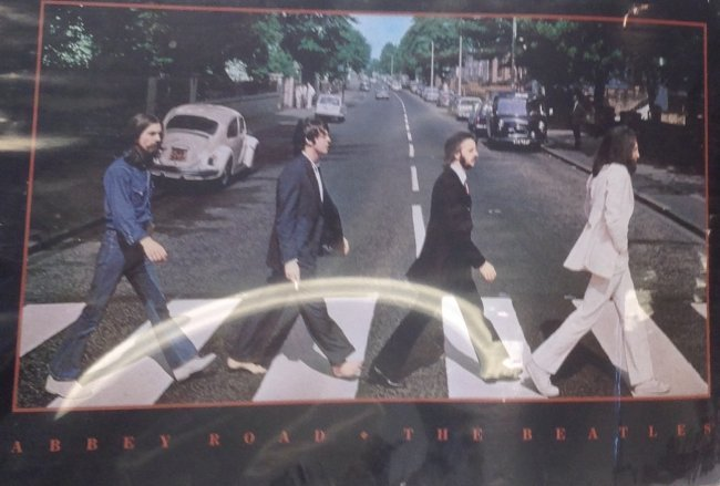 Abbey Road poster (The Beatles) - 2