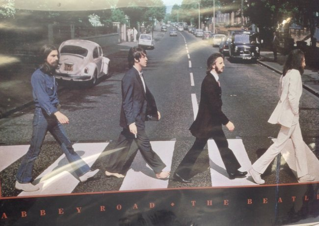 Abbey Road poster (The Beatles) - 3
