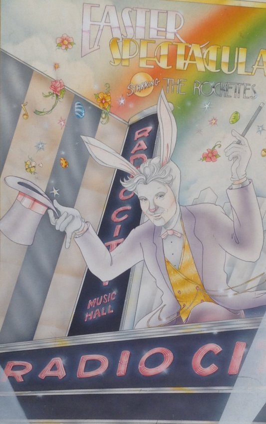 Radio City Music Hall Easter Spectacular Poster .