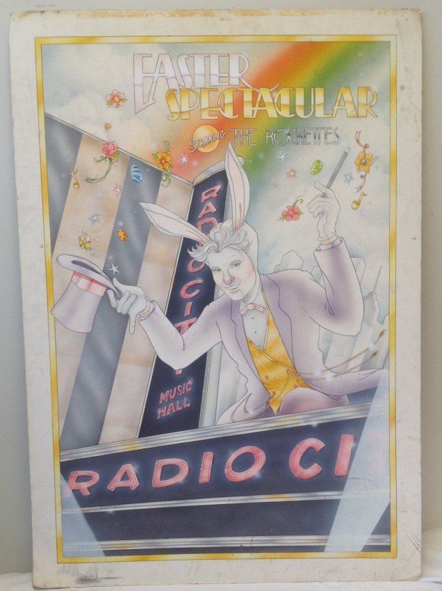 Radio City Music Hall Easter Spectacular Poster . - 2