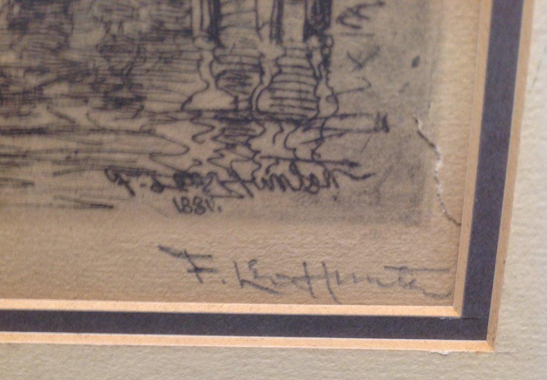 F Leo Hunter Etching 20 x 16 - 4