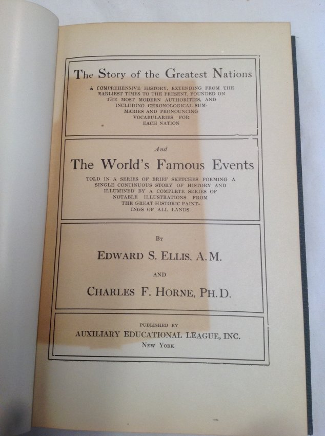 Edward S. Ellis and Charles F Horne - 8