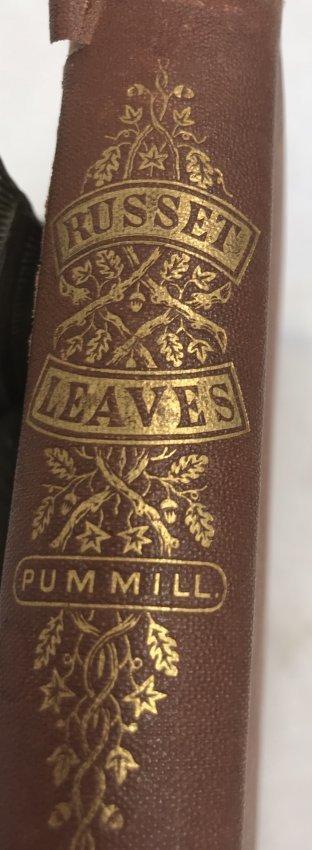 James Pummill. Russett Leaves - 2