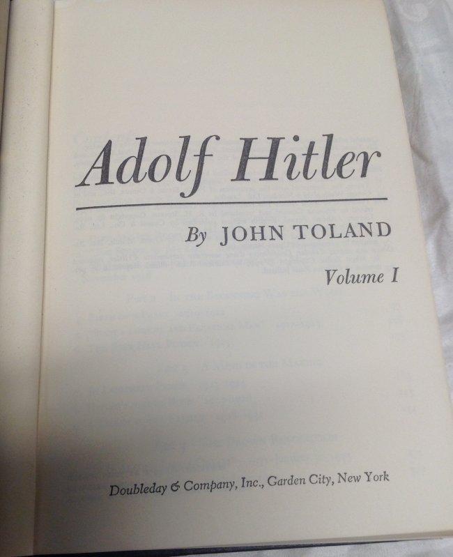 John Toland: Adolf Hitler - Book - 3