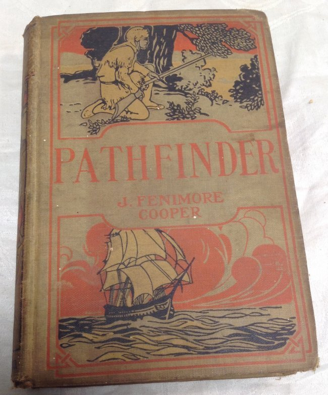 Book : James Fenimore Cooper. The Pathfinder 1909