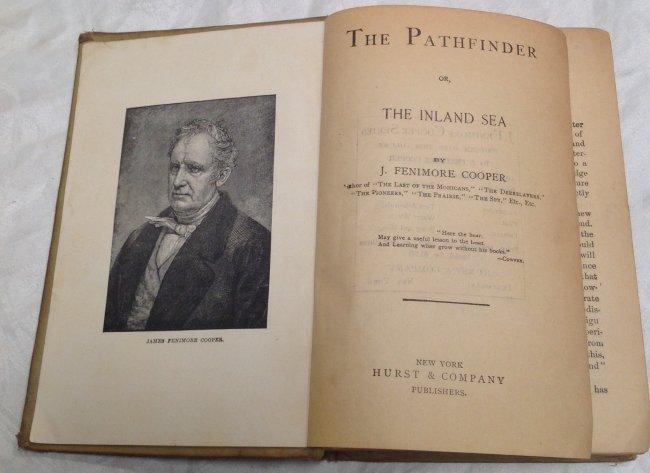 Book : James Fenimore Cooper. The Pathfinder 1909 - 3