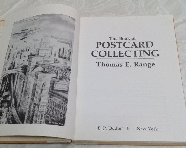 Thomas Range. Book of Post Card Collecting - 3
