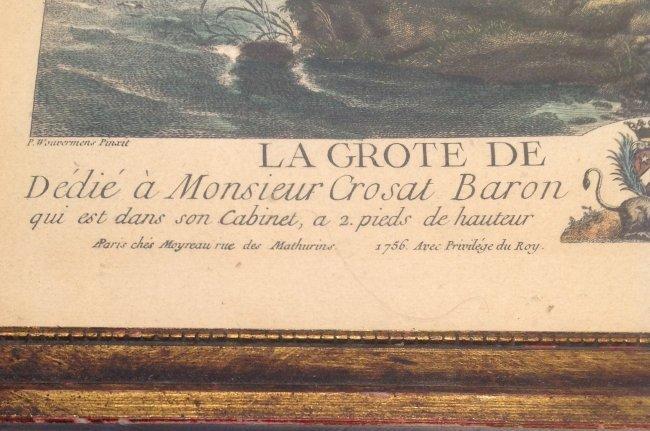 Jean Moyreu Color Litho La Grote De I Abreuvoir - 3