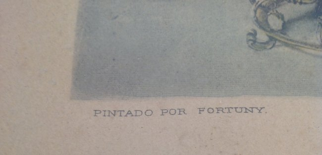 19th C. M Fortuny / UN Mariage Espagnol Lithograph - 3