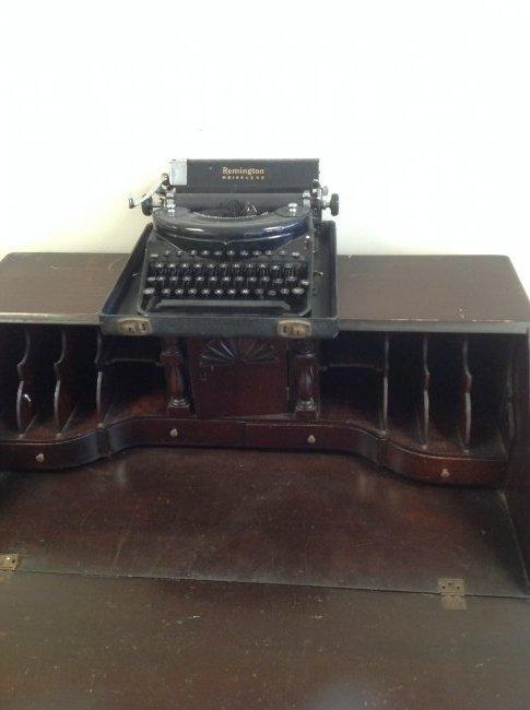 Antique Chippendale Secretary Desk 42 x 36 - 4