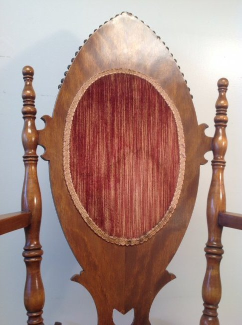 Antique Oak Rocking Chair 40 x 23 - 4