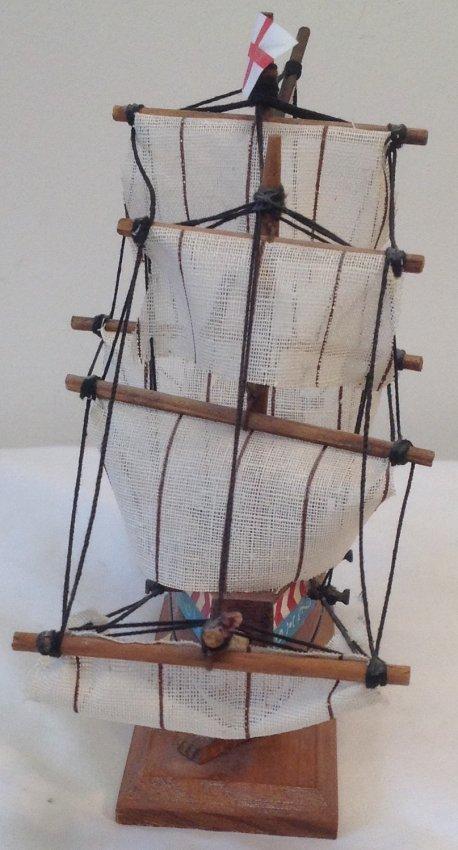 Susan Constant Sail boat model 7 x 7 - 4