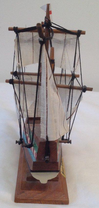 Susan Constant Sail boat model 7 x 7 - 5