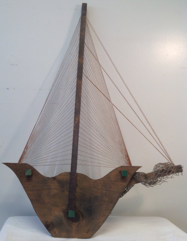 Sail Boat Wall Hanging 32 x 22 - 2