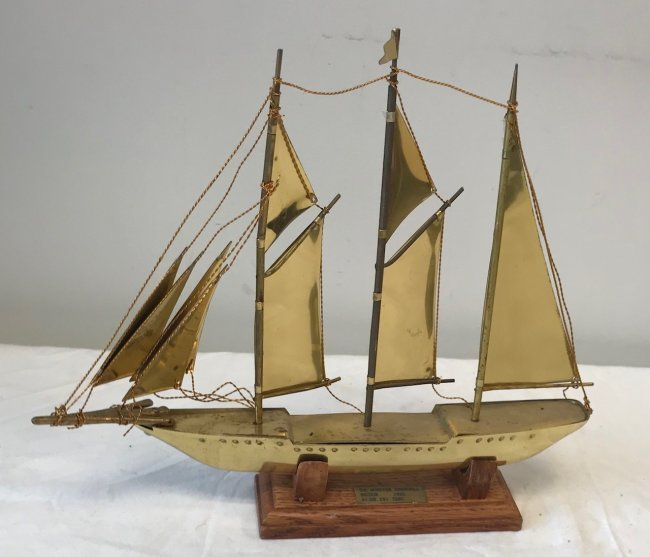 Sir Winston Churchill Sail Boat Model